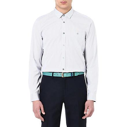 TED BAKER Glasto striped shirt (Blue