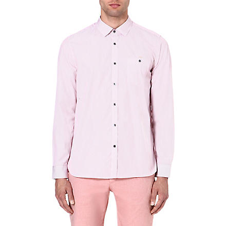 TED BAKER Glasto striped shirt (Red