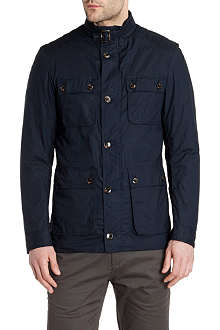 TED BAKER Orynew wax cotton coat