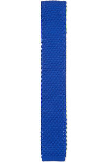 TED BAKER Plain knitted tie