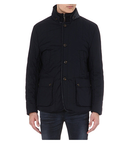 TED BAKER Kereed vertical quilted jacket (Navy