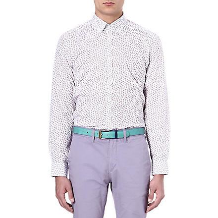 TED BAKER Paisley printed shirt (White