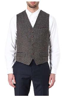 TED BAKER Wool-blend waistcoat