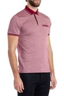 TED BAKER Mitchum striped polo shirt