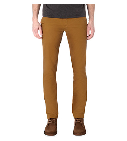 TED BAKER Slim-fit chino (Mustard