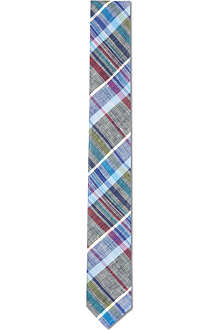 TED BAKER Checked linen tie