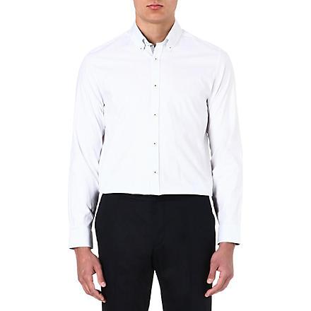 TED BAKER Cotton polka-dot shirt (White