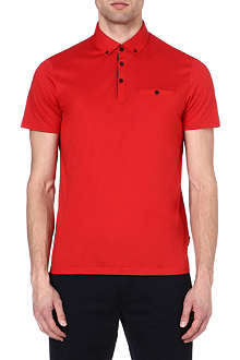 TED BAKER Grainyo cotton polo shirt