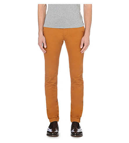 TED BAKER Clegan slim-fit chinos (Mustard