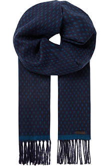 TED BAKER Reverse colour scarf