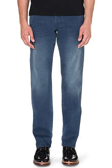 TED BAKER Original fit grey wash denim jeans
