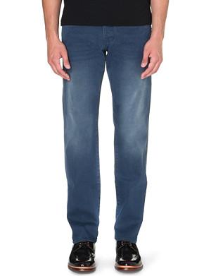 TED BAKER Original fit grey wash denim jeans