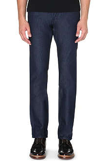 TED BAKER Slim-fit tapered denim jeans