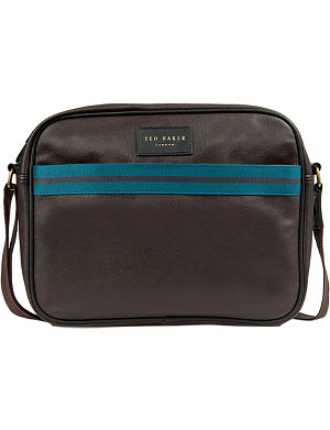TED BAKER Core webbing faux-leather bag