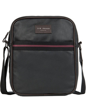 TED BAKER Poppov contrast trim flight bag