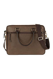 TED BAKER Kangaru scotch grain document bag
