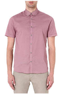 TED BAKER Short-sleeved printed shirt