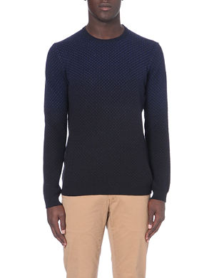 TED BAKER Carlow dip-dye jumper
