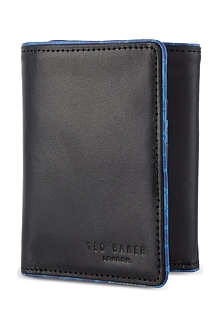 TED BAKER Mindore leather tri-fold wallet