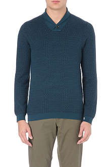 TED BAKER Catcott shawl-collar jumper
