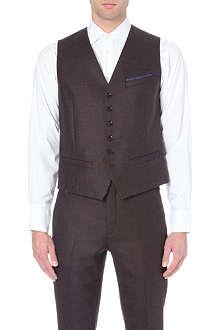 TED BAKER Hordwai wool waistcoat