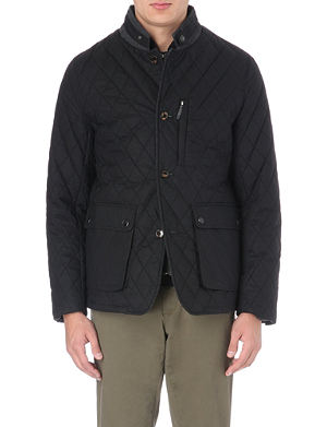 TED BAKER Quilted patch pocket jacket