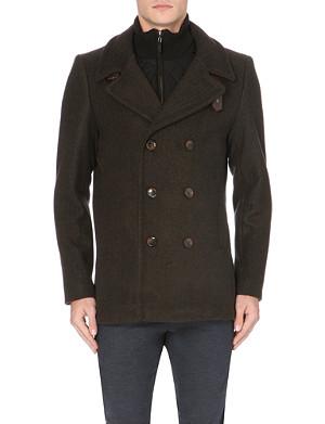 TED BAKER Jorah double-breasted wool-blend jacket