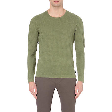 TED BAKER Chinley knitted jumper (Green