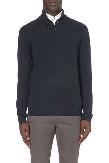 TED BAKER Funnel-neck jumper