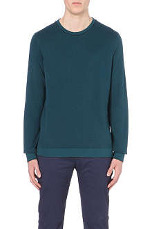 TED BAKER Jacquard knitted jumper