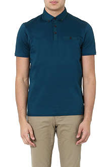 TED BAKER Grainyo grosgrain polo shirt