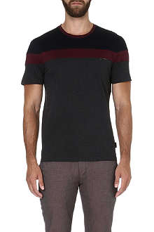 TED BAKER Pintan colour-block t-shirt