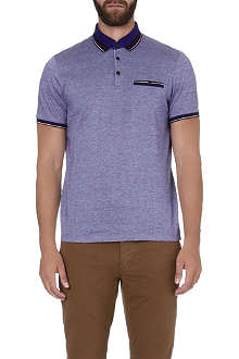 TED BAKER Kyroe Oxford cotton polo shirt