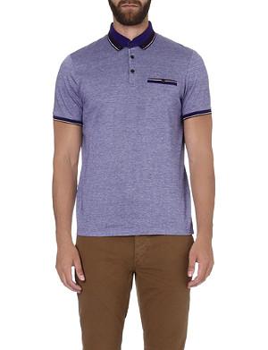 TED BAKER Kyroe Oxford cotton polo shirt