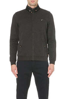 TED BAKER Zip through jersey jacket