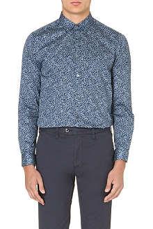 TED BAKER Leojak floral-print shirt