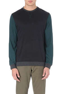 TED BAKER Luxore colour block sweater