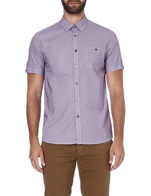 TED BAKER Nudgey short-sleeved shirt