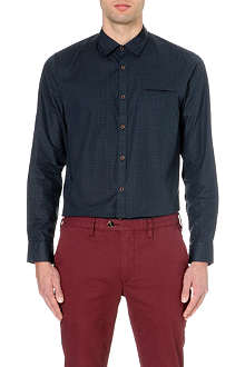 TED BAKER Toocalm check shirt