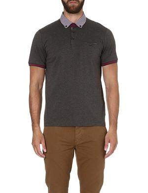 TED BAKER Guztavo cotton polo shirt