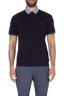 TED BAKER Guztavo cotton polo shirt