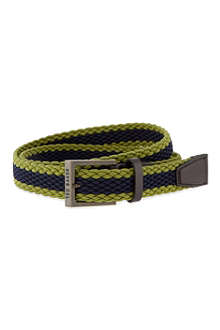 TED BAKER Striped elastic belt
