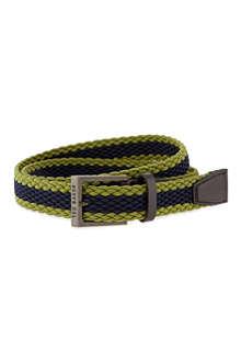 TED BAKER Striped elastic belt