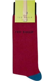 TED BAKER Yamba bright coloured socks