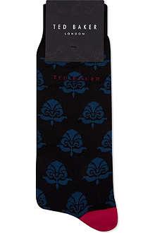 TED BAKER Begogo patterned socks