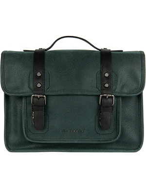 TED BAKER Lochus cotch grain satchel