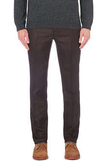 TED BAKER Wool check trousers
