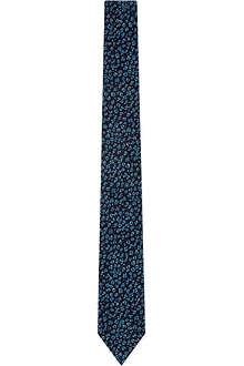TED BAKER Leopard spot tie
