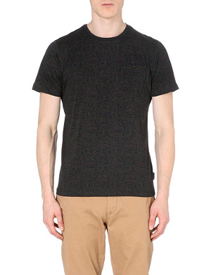TED BAKER Teecan printed cotton-jersey t-shirt
