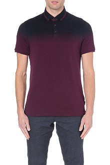 TED BAKER Klovis ombre polo shirt